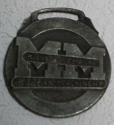 Minneapolis Moline Modern Machinery Watch Fob Agriculture Farm Advertising