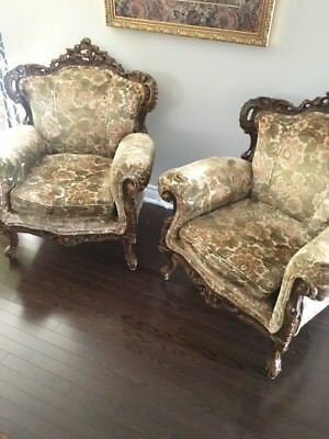 Couch/chairs Set  Antique 1970