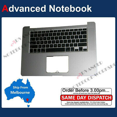 """Palm Rest Casing with Keyboard Assembly Apple Macbook Pro Retina 15"""" A1398 2012"""