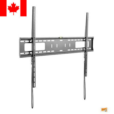 PrimeCables® Fixed Slim TV Wall Mount Bracket For 60 65 70 75 80 90 100 Inch TV