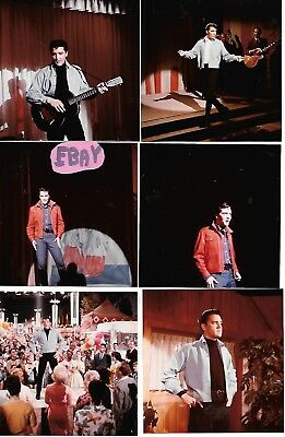 Vintage Elvis Photos 1960's On Movie Set V.coons Collection Must See Lot 309