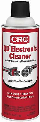 CRC Quick Dry Electronic Cleaner Electrical Contact Spray Premium 11 Oz