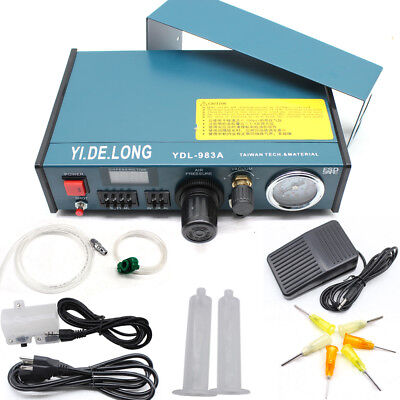 110V Auto Glue Dispenser Solder Paste Liquid Controller Dropper YDL-983A US