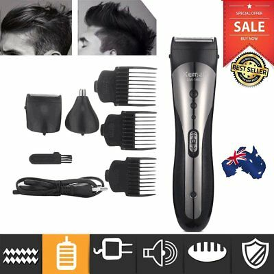 Waterproof Rechargeable Electric Hair Clipper Shaver Trimmer Razor Beard Shaver%