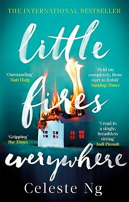 Little Fires Everywhere: The New York Times Top by Celeste New Paperback Book
