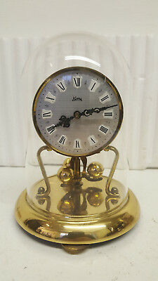 Vintage Compact Koma 400 Day Torsion Anniversary Clock