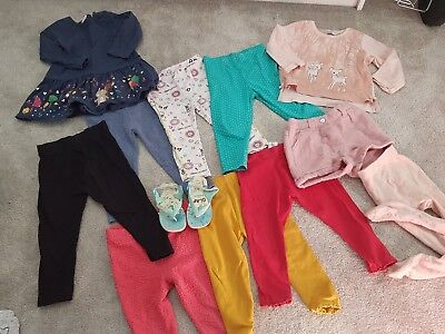 Baby toddler girl clothes bundle 12 - 18 months