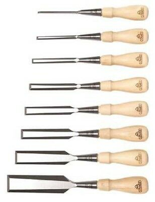 STANLEY 16-793 Wood Chisel Set | 1/8 to 1-1/4 In, 8 Pc Socket (Sweetheart)