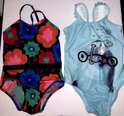 Baby Gap Toddler Girl 4T two-One Piece  Swimsuits