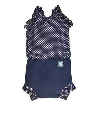 Splash About Happy Nappy Costume  *Size M / 3-8months Polka Dot