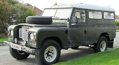 1972 LAND ROVER SERIES 3, Historic vehicle, Tax exempt
