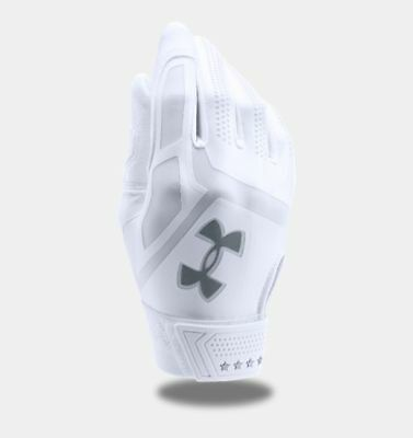 Under Armour Ua Heater Youth Baseball Batting Gloves 1299654-100 Msrp