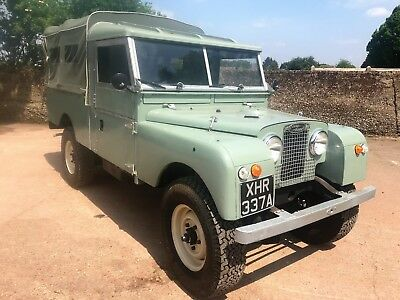restored 1956 Land Rover Series 1 109in 11 seater