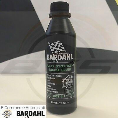 Liquido olio Freni Sintetico BARDAHL DOT 5.1 RACING Abs Alte Temperature 250ml