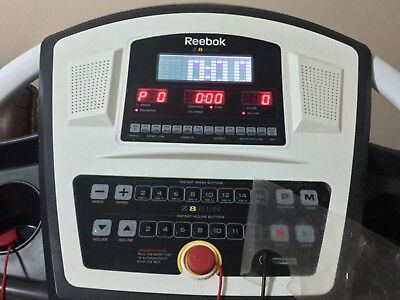 White Reebok Treadmill.. Hardly Used. In Perfect Working Condition.,