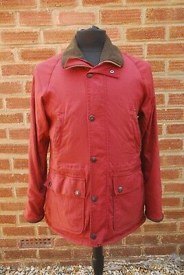 Barbour Breathables Faded Red T33 Freedom Endurance Nylon Jacket Small