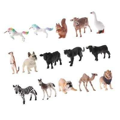 Vivid Animal Model Teaching Toys Pretend Play Props for Kid Holiday Gift