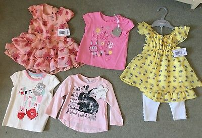 New With Tags Baby Girls Clothes Bundle 3-6months