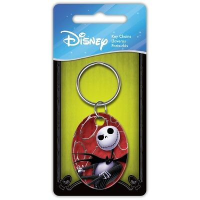 Disney A Nightmare Before Christmas Jack & Sally Licensed Keyring-Keychain