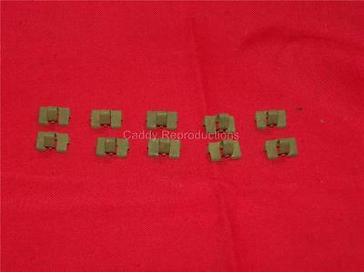 1941 - 1966 Cadillac Door Window Felt Clips Set of 10