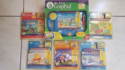 NIB My First Leap Pad Leap Frog Learning System bundle - Blue