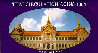 1994 Thailand Circulation Coin Set