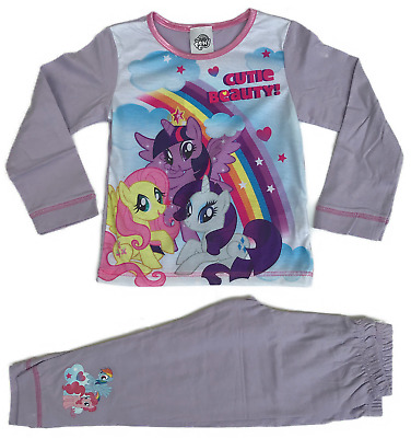 Official My Little Pony Pyjamas Pjs Pajamas Toddler Girls Children's 2 3 4 5