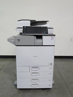 Ricoh MPC2503 color copier printer scanner - 25 ppm color - Really Low Meter!