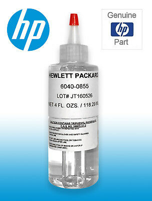 Genuine HP 6040-0855 Synthetic Oil, 4oz 118.29ml Printer Lubricant - Brand New