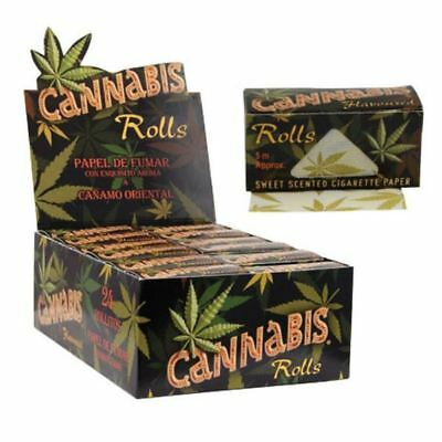 Cannabis Flavoured Rolls- Rolling Paper 1-24 Rolls