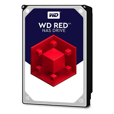 "Western Digital RED NAS 10TB 3.5"" SATA Hard Drive (WD100EFAX)"