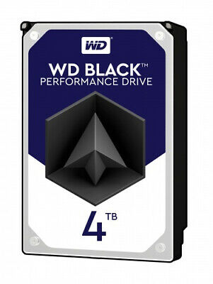 Western Digital Black 4TB 3.5'' SATA Desktop Hard Drive (WD4005FZBX)
