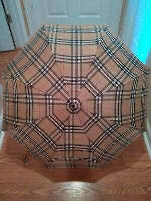 vintage burberry umbrella