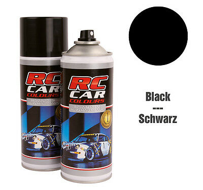 RC Car Colours #RCC610 Lexan Spray Schwarz 150 ml GNP: 3,93€/100ml