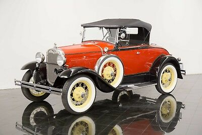 1930 Ford Model A Deluxe Rumble Seat Roadster 1930 Ford Model A Deluxe Rumble Seat Roadster