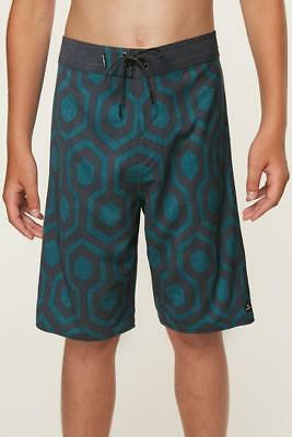"BOYS ONEILL HYPERFREAK WRENCHED BOARDSHORTS Size 8 23"" 24"" WAIST"