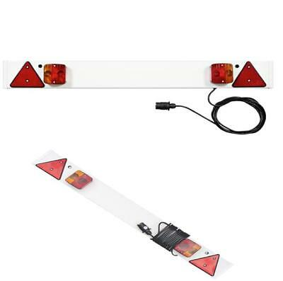 4ft Trailer Light Board with 5m Cable Touring Towing Caravan Car Lights Plug