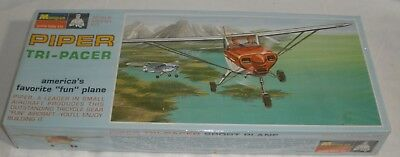 Piper Tri-Pacer model kit Monogram Factory Sealed Collectors Quality Condition