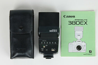 Canon Speedlite 380EX Shoe Mount Flash with Manual (FR) >>TESTED<<