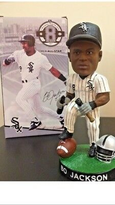 Bo Jackson Chicago White Sox Oakland Raiders Bat Break Bobblehead