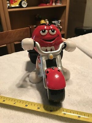 M & M Yellow Roadster Car Candy Dispenser, M&M Candy Hot Rod Car Candy Dispencer
