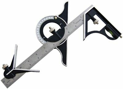 Am-Tech 12-inch Combination Square and Protractor