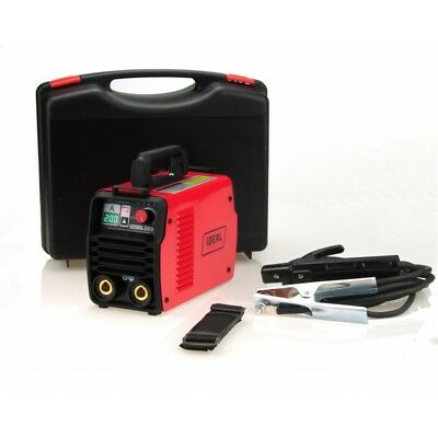 IDEAL PRAKTIK 200 DIGITAL CASE MMA/ARC/TIG LIFT Welder Welding Inverter 200A