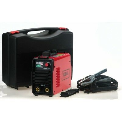 IDEAL PRAKTIK 220 DIGITAL CASE MMA/ARC/TIG LIFT Welder Welding Inverter 220A