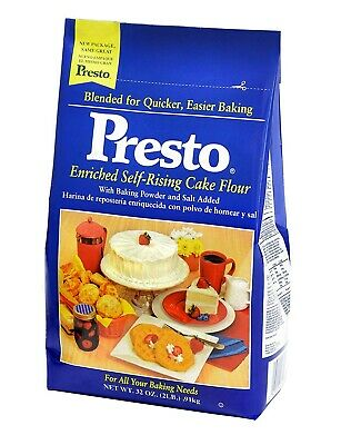 Presto Self Rising Cake Flour 32oz BAG**