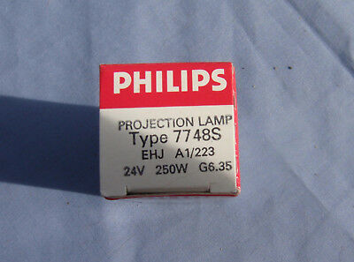 Philip Projection Lamp Bulb - Philip 7748S - 24v 250w - EHJ A1/223