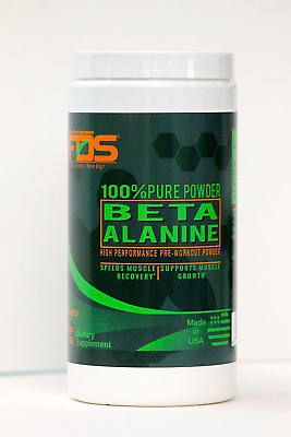 FDS Pure Raw Beta Alanine Extreme Pre Workout Powder Unflavoured 500gm(1.1 LB)
