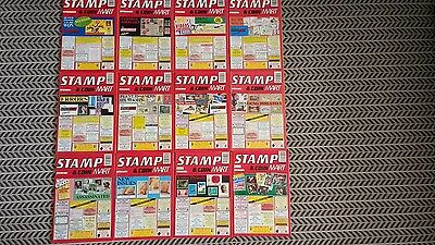 Stamp And Coin Mart Magazine January 1992 To December1992