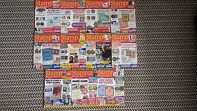 Stamp And Coin Mart Magazine January 2009 To November 2009