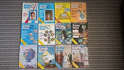 STAMP NEWS MAGAZINE 22nd JUNE 1983 TO 20th DECEMBER 1983 (VOLS 3 - 1 TO 3 - 12)